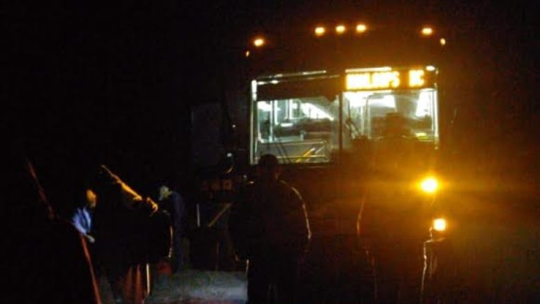 Greyhound Passengers Stranded Cold And Frustrated After Bus Catches Fire Cbc News