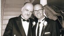 John MacTavish and Rob Rollins wedding photo