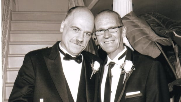 John MacTavish (left) and Rob Rollins (right) were together for 29 years and got married in June 2011.