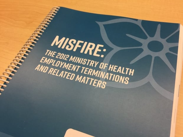 Misfire Ombudspersons report on ministry of health firings