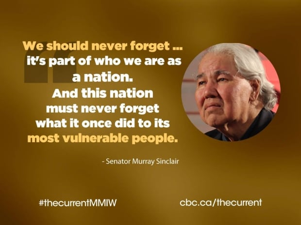 Murray Sinclair quote board