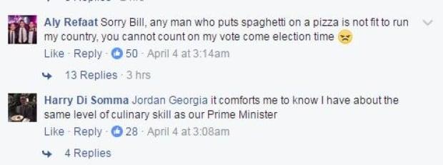 Facebook commenters