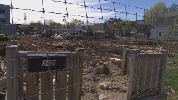 The lot at the corner of Chestnut Passmore streets in Charlottetown has been sitting empty for over a year since demolition of nine properties.