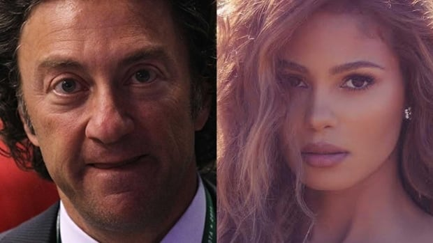 Model Greice Santo said a lawsuit that accuses Edmonton Oilers owner Daryl Katz of offering her money for sex is not for financial gain.