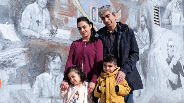 Mohamed and Shereen Omar and their two children,  Rameen and Eva, moved to Whitehorse last week, sponsored as refugees by the Riverdale Baptist Church.