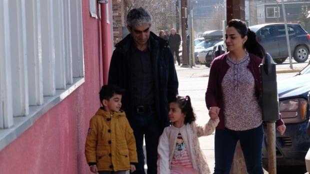 Mohamed and Shereen Omar and their two children are Syrian refugees who moved to Whitehorse last spring, sponsored by the Riverdale Baptist Church. They have since moved to Calgary.