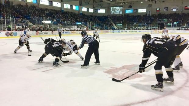 Cape Breton Screaming Eagles v Charlottetown Islanders