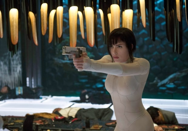 Film Box Office Ghost in the Shell