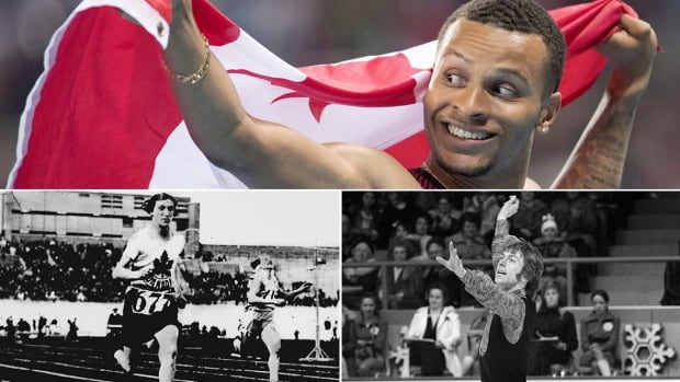 "Clockwise from top: Andre De Grasse, Toller Cranston and Fanny ""Bobbie"" Rosenfeld have all impacted the city of Toronto."