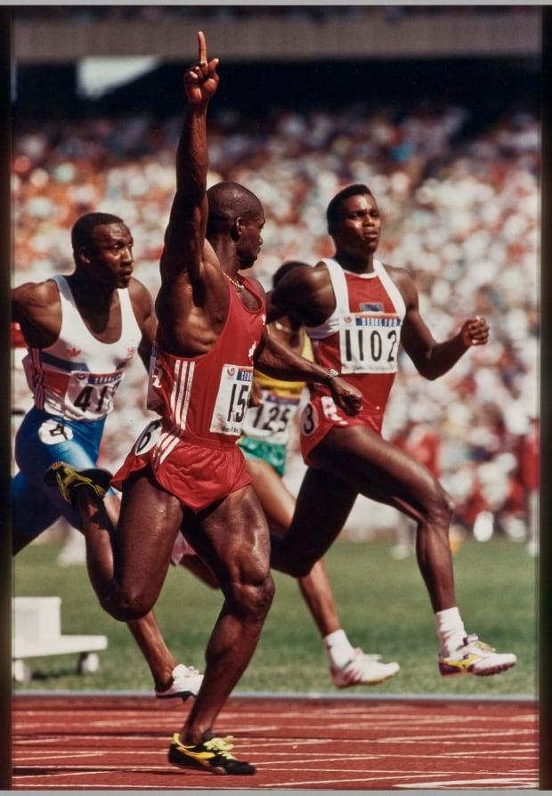 Ted Grant, Ben Johnson, Seoul Olympics, 1988