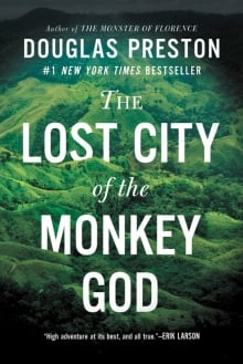 The Lost City of the Monkey God book cover