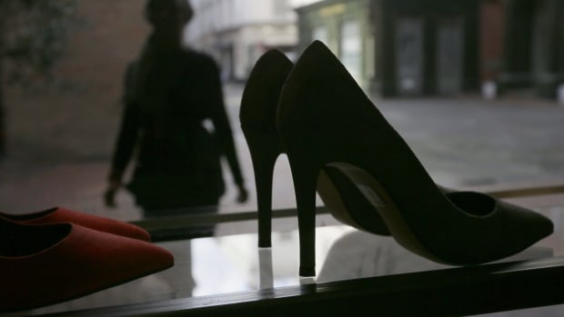 Canada province axes rule forcing women to wear high heels at work