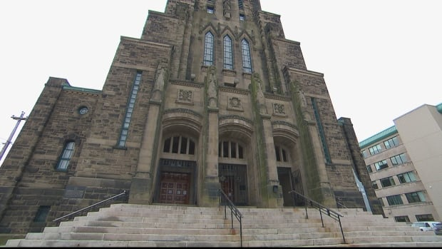 The Cathédrale Notre-Dame-de-l'Assomption is one of the churches in the Roman Catholic Archdiocese of Moncton affected by civil lawsuits launched by victims os sexual abuse by priests.