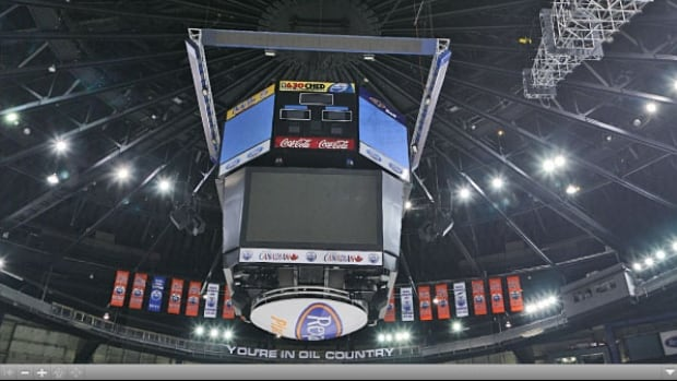 A report is going to Edmonton city council April 11 on what to do with the old scoreboard in Northlands Coliseum.The most likely outcome would be its sale for scrap parts, the report stated.