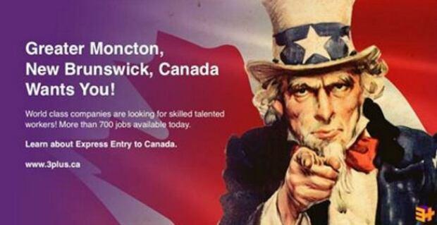Moncton job ad