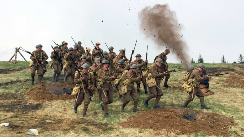 991de04374 The film Newfoundland at Armageddon tells the story of an epic tragedy —  when the Newfoundland Regiment lost nearly 90 per cent of its troops in 30  minutes ...