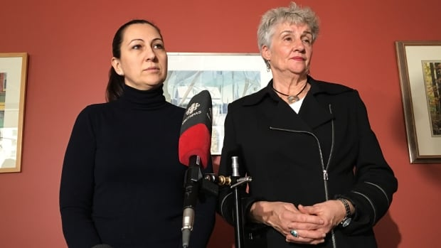 Councillors Ana Bailao, left, and Paula Fletcher say they're hoping a series of new recommendations will let the city build more homeless shelters without angering people in the neighbourhoods they're located in.