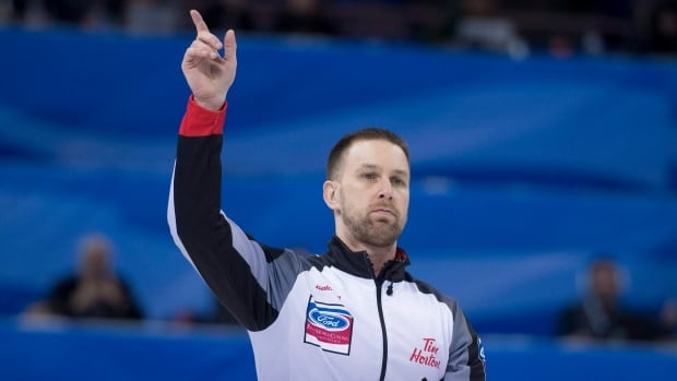 PEI's Brett Gallant playing for gold at World Curling Championship