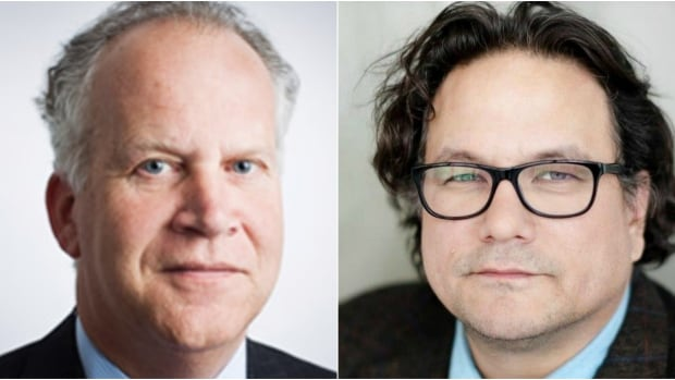 Thomson Reuters deputy chairman David W. Binet (left) and Indigenous critic and CBC Radio columnist Jesse Wente (right) are among eight new appointments to the Canada Council for the Arts.