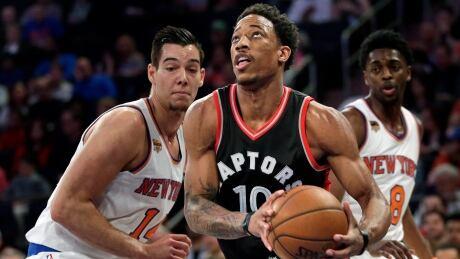 Raptors Knicks Basketball