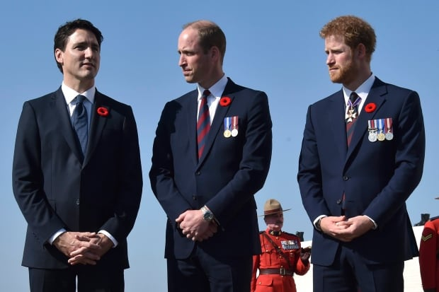 APTOPIX France Canada Vimy Centennial