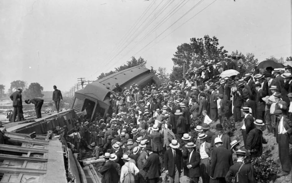 Ottawa train crash 1913