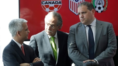 Canada, Mexico and U.S announce joint 2026 FIFA World Cup bid