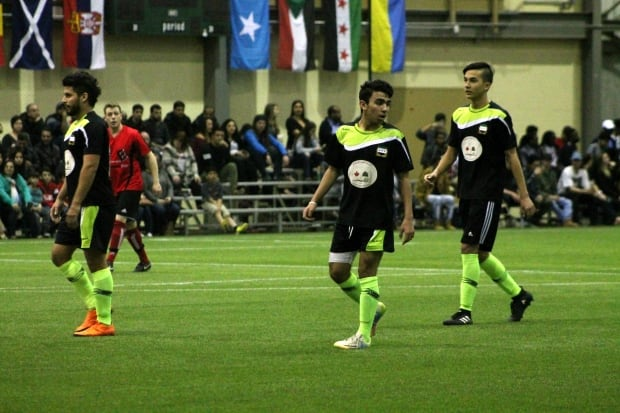 Syria soccer Regina