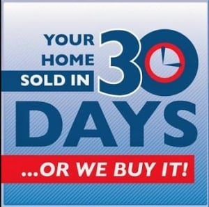 Your home sold in 30 days