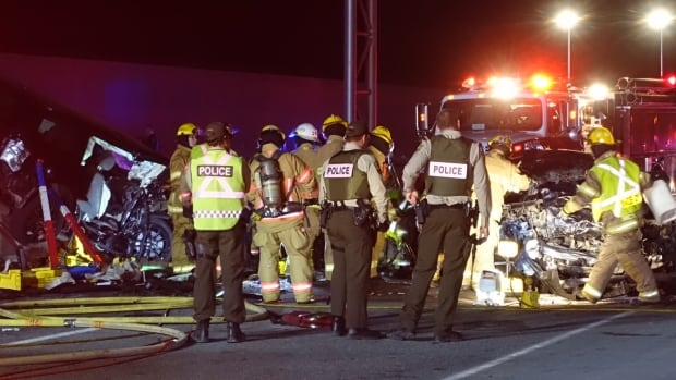 Four people killed, four injured in Quebec crash