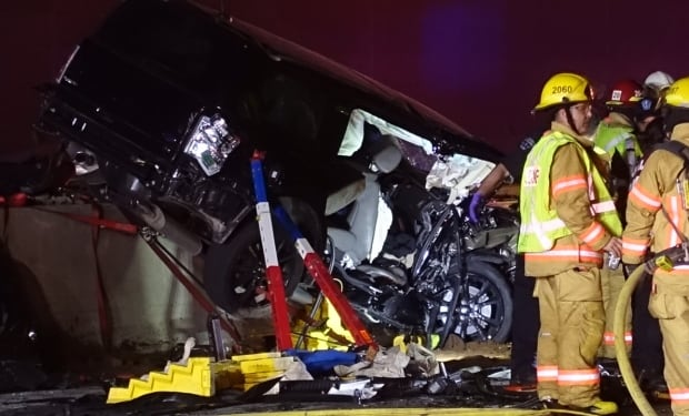 Head-on collision kills four in Chateauguay