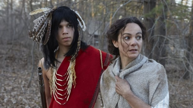 John Tutela and Laura Secord as depicted in CBC's heavily criticized miniseries Canada: A Story of Us. The parliamentary standing committee on Canadian heritage has requested a meeting with the public broadcaster to explain the show's 'mistakes.'
