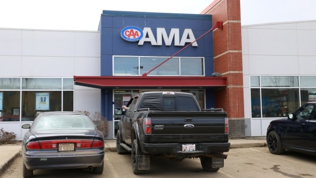 The AMA is one of the few insurers with a walk-in office in Fort McMurray. Months after the wildfire, it's still not signing up new customers who want to insure recreational vehicles.