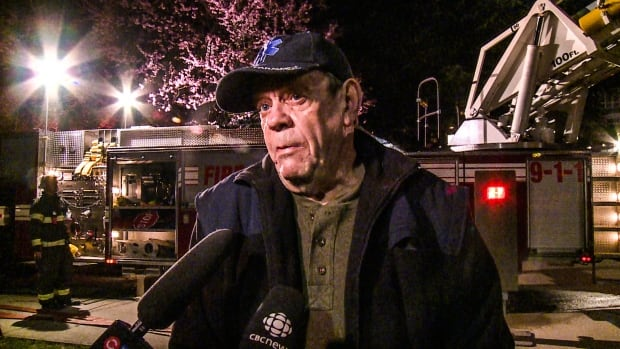LANGLEY LIONS SENIORS HOME FIRE RESIDENT PETER DOWLER