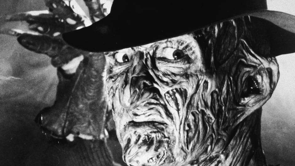 Robert Englund plays Freddy Krueger, the Nightmare on Elm Street villain who is covered in severe burn scars and seeks vengeance on his killer's children through their dreams.