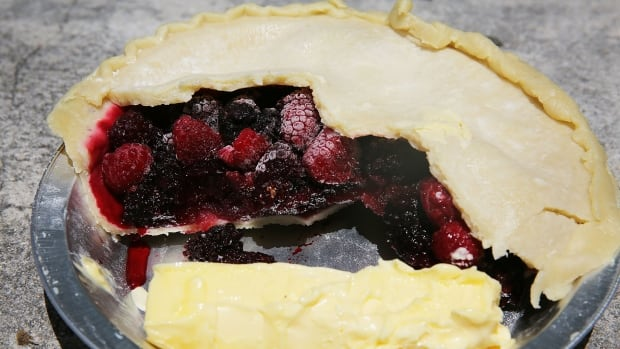 Pie with trans fats