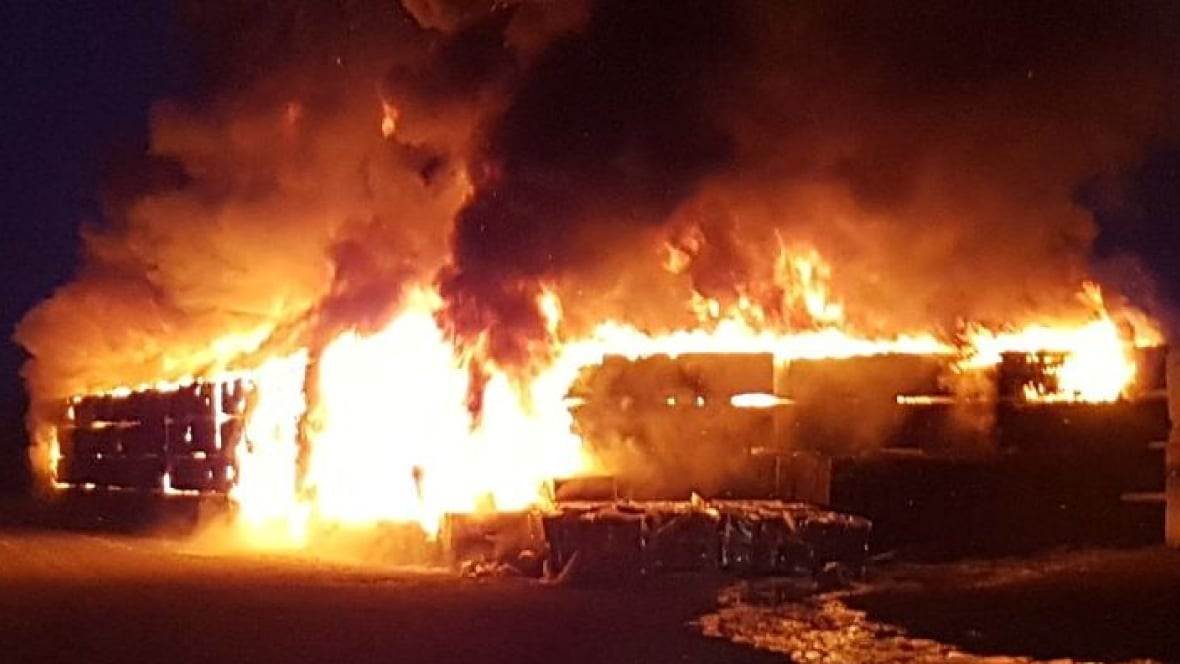 Http Firewood ~ Fire causes m in damage at hudson bay rail yard the