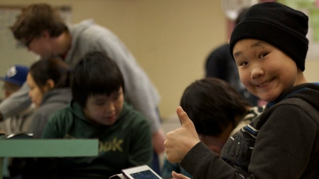 One of the Inuit youth who participated in Pinnguaq's previous workshops.