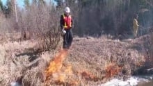 Controlled burn sparks Fort McMurray resident's sensitivities