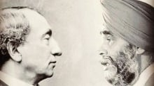 Toronto - Sir John A. Macdonald and Harjjit Singh poster