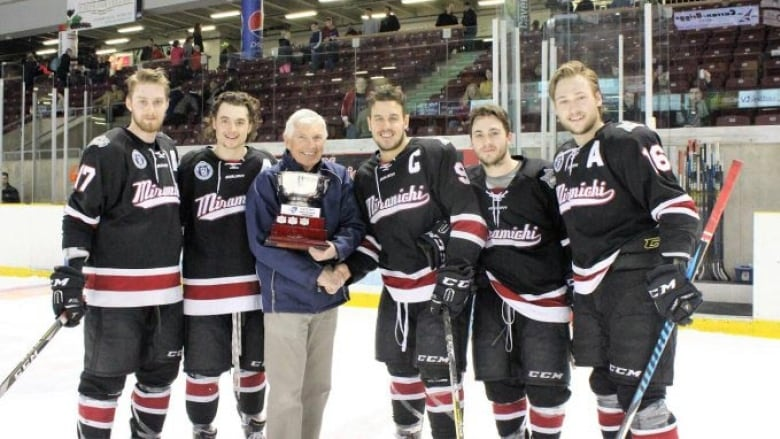 Miramichi Timberwolves In Hockey Finals For 1st Time In Team