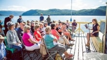 Writers at Woody Point festival