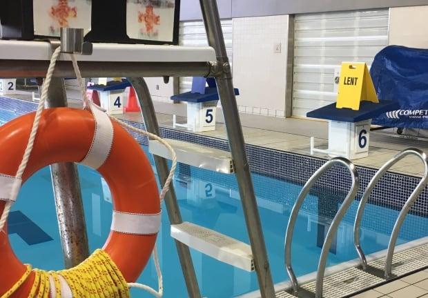 Slow swim lane