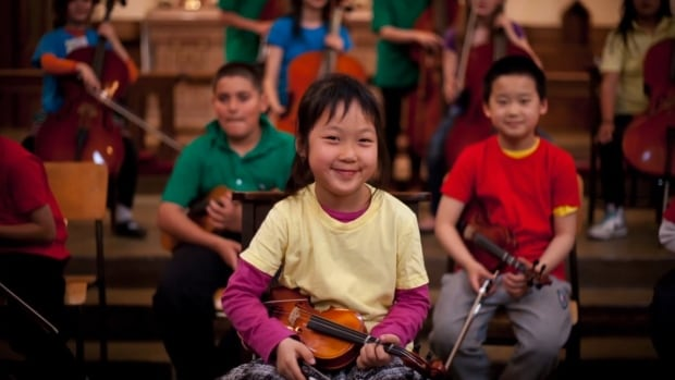 The St. James Music Academy in Vancouver's Downtown Eastside currently provides free classical music training to more than 500 children.