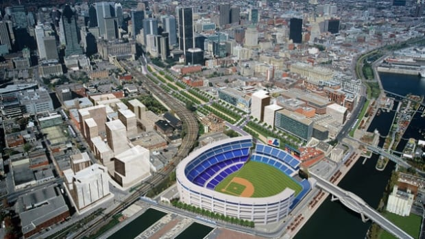 One location that's been proposed for a professional baseball stadium is the Peel Bassin in downtown Montreal.