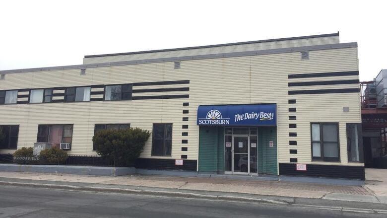 Scotsburn building exterior