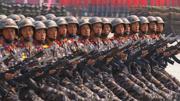 Amid rising international tensions over its missile tests, North Korea held a massive military parade during celebrations for the 105th anniversary of the country's founder, Kim Il-sung, last weekend.
