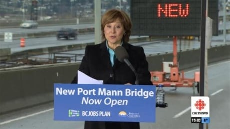 Christy Clark Port Mann