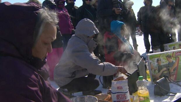 Many events including traditional games, seal skinning and dog sled are set for Saturday.