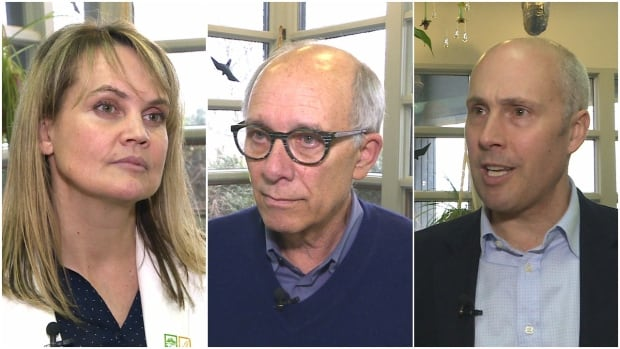 A conversation to find common ground with Alberta centrists began Saturday in Red Deer. Kerry Cundal, a leadership candidate for the Alberta Liberal party, former Edmonton mayor Stephen Mandel and Alberta Party leader Greg Clark all made the trip for the closed-door meeting.